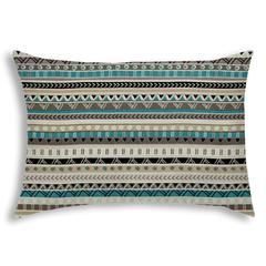 NEVADA Taupe Indoor/Outdoor Pillow - Sewn Closure