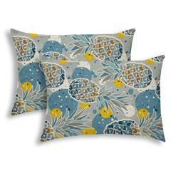 HAWAKKI Indoor/Outdoor Pillow - Sewn Closure (Set of 2)