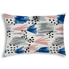URBAN BAHIA Pink Indoor/Outdoor Pillow - Sewn Closure