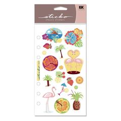 Classic Stickers Summer Tropics