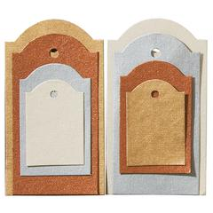 Tag Set Metallic Sheen Arch