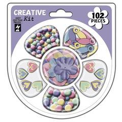 Cardmaker's Creative Kit Icy Rainbow