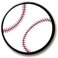 Hot Off the Press Shaped Brads Baseballs
