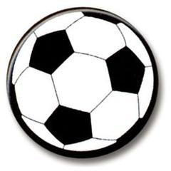 Hot Off the Press Shaped Brads Soccer