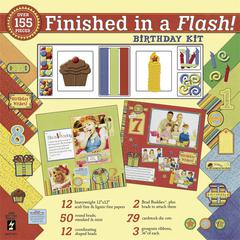 Finished In A Flash! 12 x 12 Kit Birthday