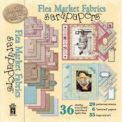 12 x 12 Paper Pack Flea Market