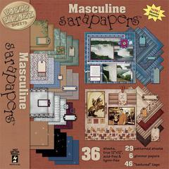 12 x 12 Paper Pack Masculine