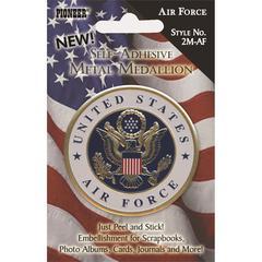 Pioneer Self-Adhesive Metal Military Medallion Air Force