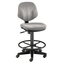 Gray Comfort Classic Deluxe Drafting Height Task Chair