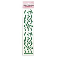 Chain Sticker String of Lights Forest Green