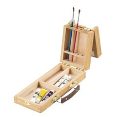 Heritage Split Hinge Brush Box Small