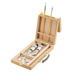Split Hinge Brush Box Large