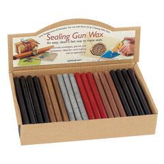 Manuscript Sealing Gun Wax Display
