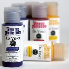 6-Color Fluid Acrylic Meets Watercolor Set