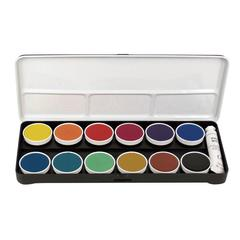 Watercolor Paint 12-Color Set