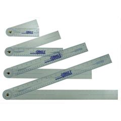 True Angle Adjustable Protractor Ruler 12""