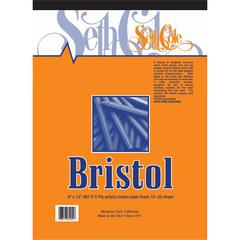 "Seth Cole 14"" x 17"" Smooth Finish Bristol Board Pad"