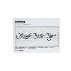 """Bienfang 9"""" x 12"""" Calligraphic Practice Paper Pad"""