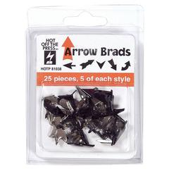 Hot Off the Press Shaped Brads Arrow Mix