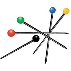 Generic Color Ball Pins 1-1/4""