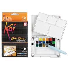 Watercolor Paint Pocket Field Sketch 18-Color Set