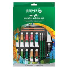 Reeves 10ml Complete Acrylic Painting Set
