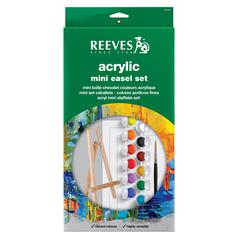 Reeves Reeves Mini Easel Acrylic Set