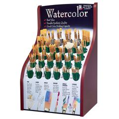 Good Synthetic Sable Watercolor and Acrylic Brush Display