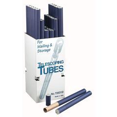 Alvin Fiberboard Mailing Tubes Display