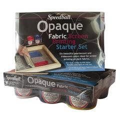 Opaque Fabric Screenprinting Starter Set
