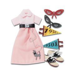 Jolee's Boutique Sticker Poodle Skirt