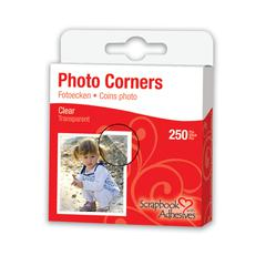Mylar Photo Corners Clear