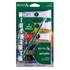 Reeves 22ml Acrylic 5-Color Set