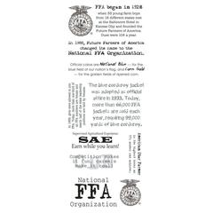 FFA Fact Stickers