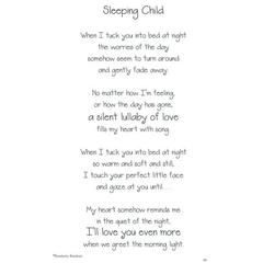 It Takes Two Poems For A Page Sleeping Child Stickers