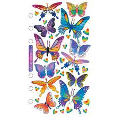 Sticko Classic Stickers Foil Butterflies