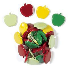 Shaped Brads Crisp Apple