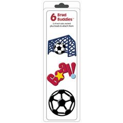 Hot Off the Press Brad Buddies & Dress-Ups Soccer