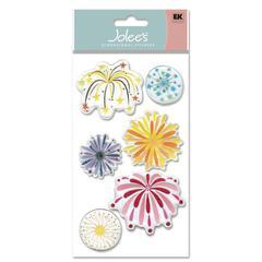 Epoxy Sticker Fireworks