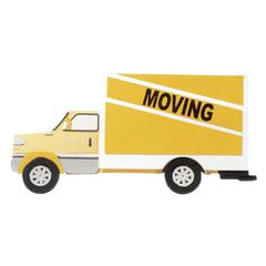 Non-Adhesive Embellishment Moving Truck