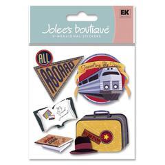 Jolee's Boutique Sticker Train Travel