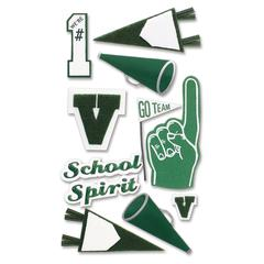 Stickers Green School Spirit