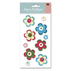 Felt Sticker Spring Flowers