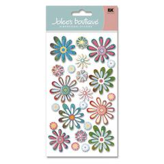 Felt Sticker Whimsical Flowers