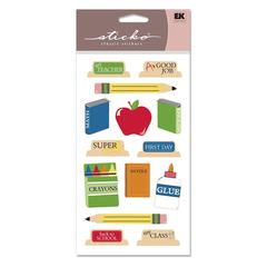 Classic Stickers Back To School