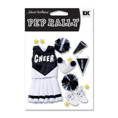 Sticker Black Cheerleading