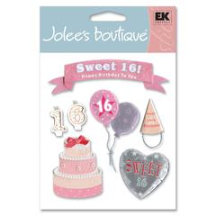Jolee's Boutique Sticker Sweet 16