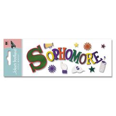 Jolee's Boutique Title Waves 3-D Title Sticker Sophomore
