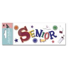 3-D Title Sticker Senior