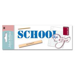 3-D Title Sticker School Days